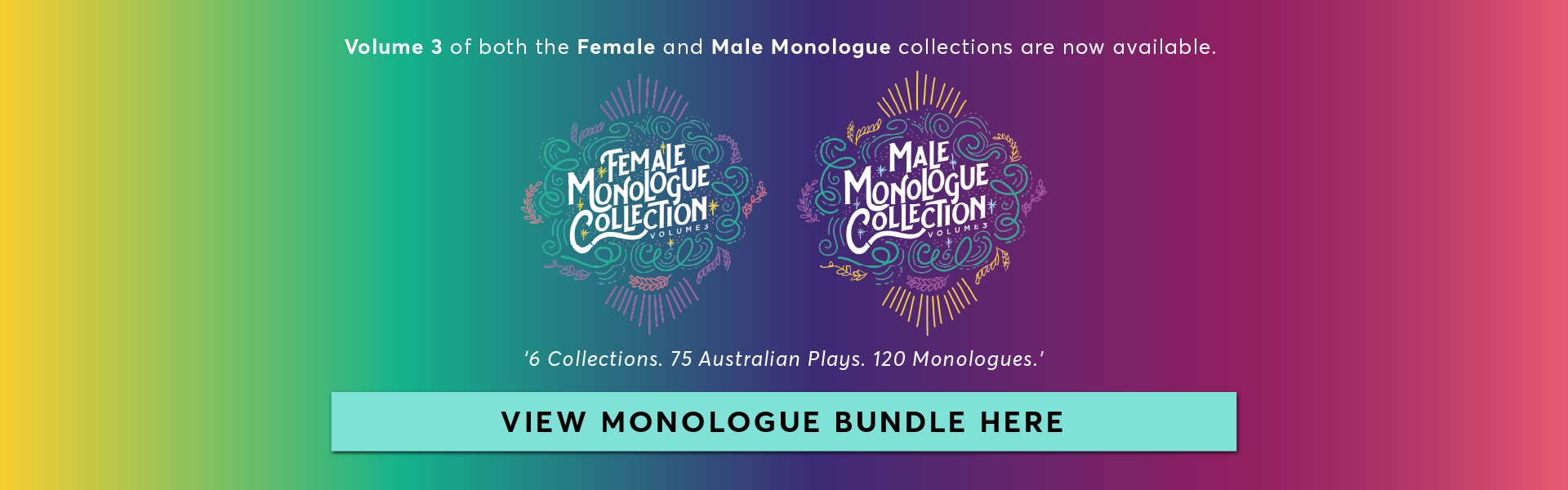 Female and Male Monologue Collection Bundle